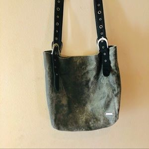 ROXY GRAY CANVAS TOTE
